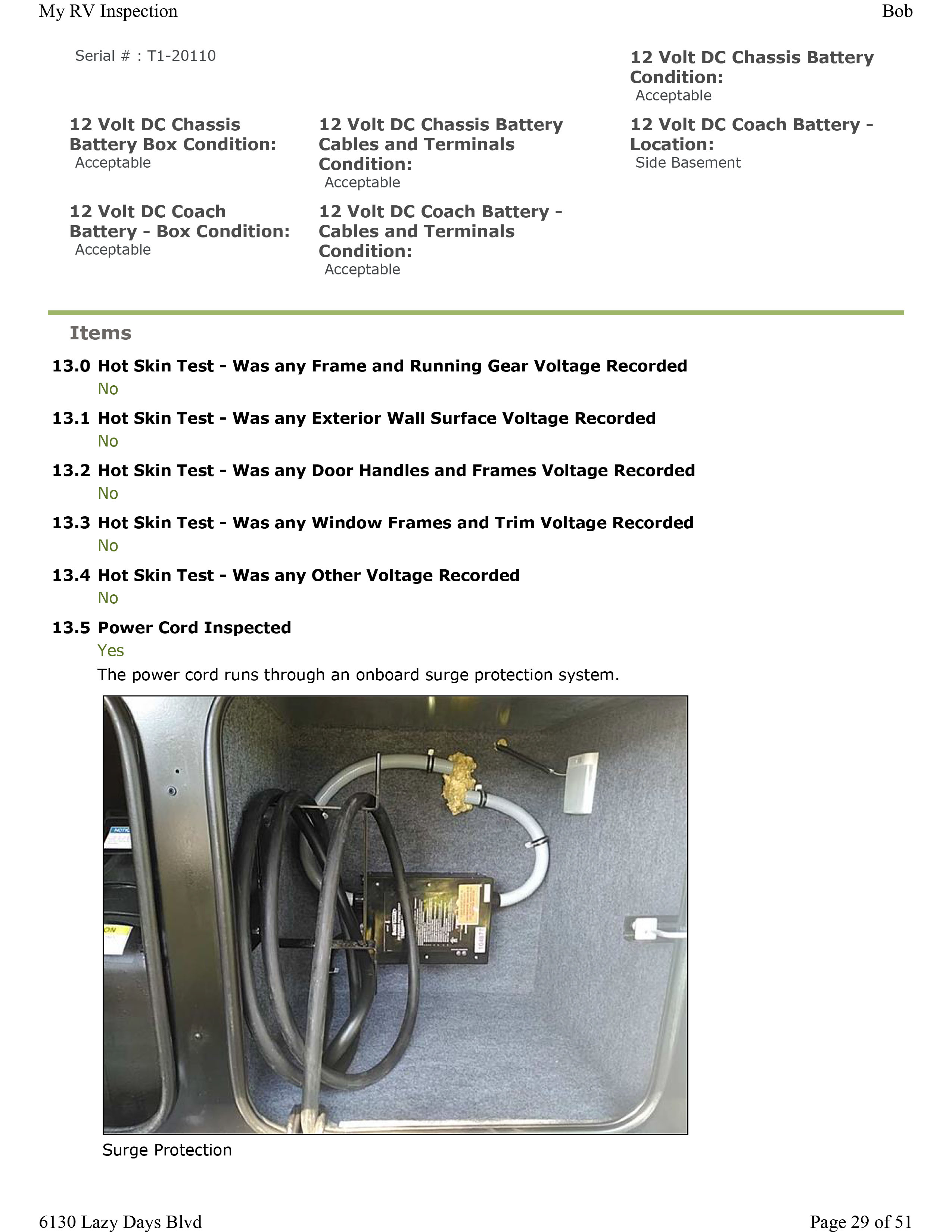 Home Guage Repair Info My Rv Inspection